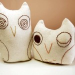 Simple Hand Embroidery Owl Softies