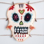 How to Needle Felt a Sugar Skull Mask