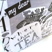 Decoupaged box.